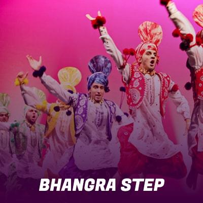 Bollywood Bhangra Steps