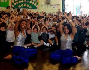 School Workshops Bollywood dance